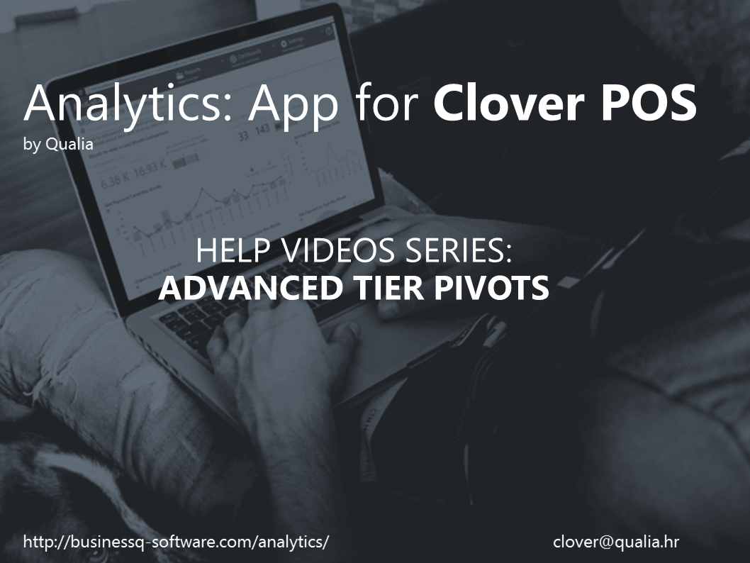 Analytics App Help Video Series – Advanced Tier Orders Pivot