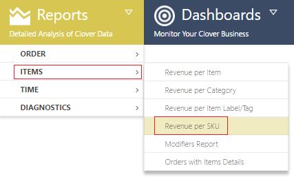 Analytics FAQ| Reporting | Analytics Clover