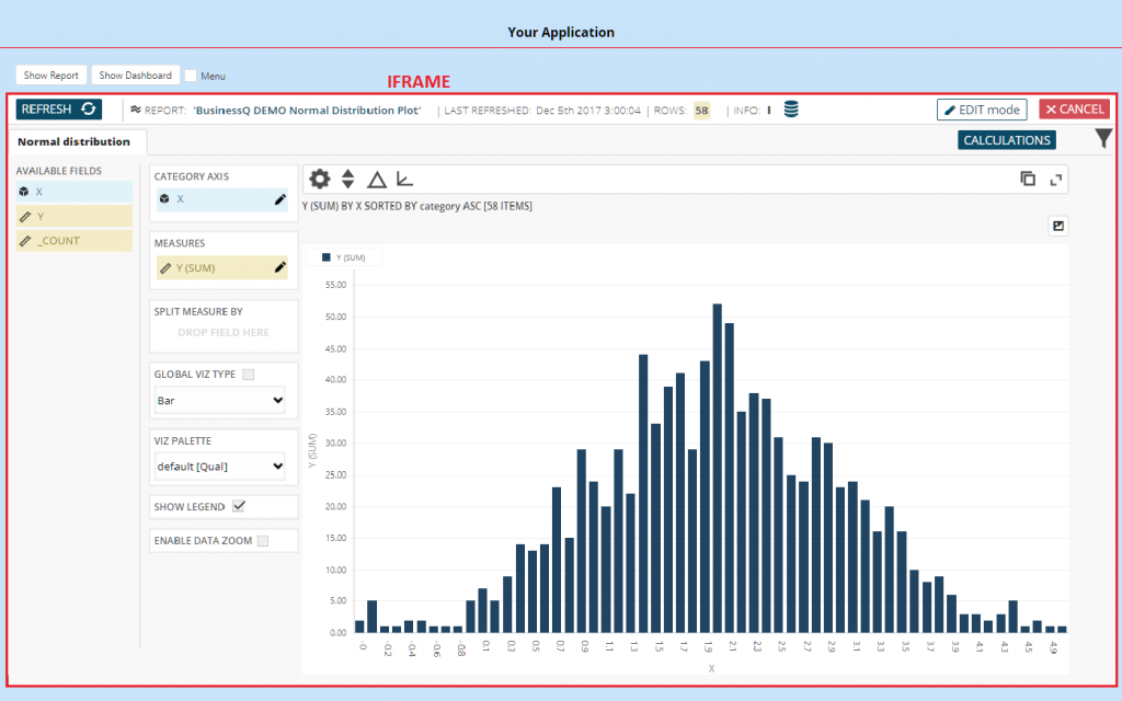 Embedding BusinessQ into your web application - Qualia BusinessQ