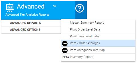 Averages Report In Analytics | BusinessQ App
