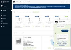 Analytics app for Clover Dashboard